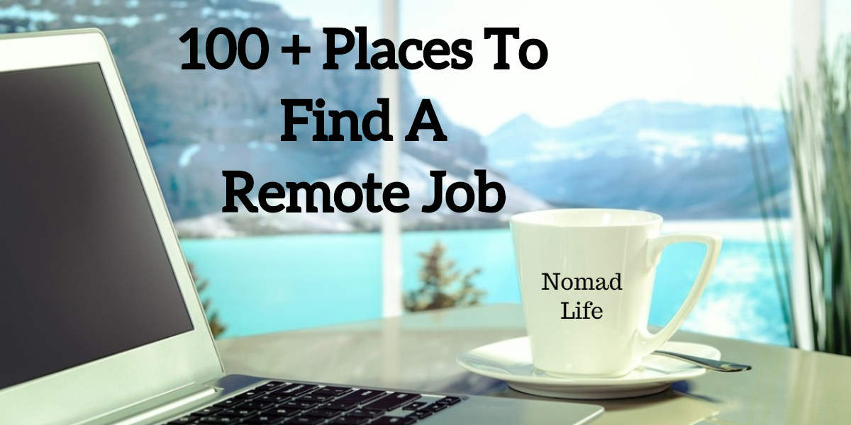 100 places to fine remote work. A complete list of remote only job boards and remote jobs.