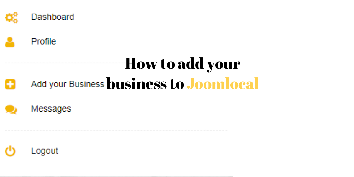 How to add your business to Joomlocal.