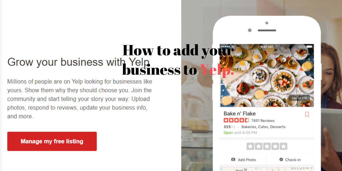How to add your business to Yelp.