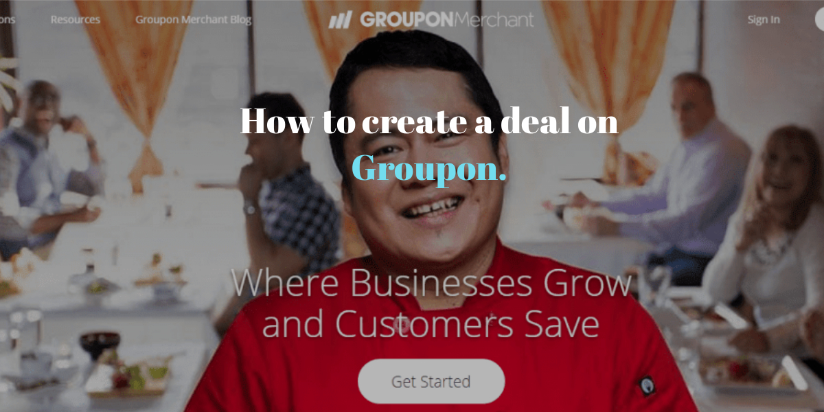 How to create a deal on Groupon.